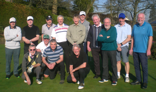 BRGC Seniors - A happy bunch of golfers